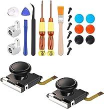 #N/A 3D Esquerda/Direita Sensor Analógico Bastão de Substituição para NS Nintendo Switch Joy-Con, Conjunto de Ferramentas ...
