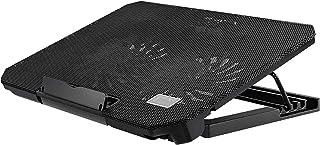 ZUIZUI Notebook kylplatta laptop kylplatta 2 fläktar laptop kylare passar 12 tum–17 tum dubbla USB-drivna fläktar cool lap...