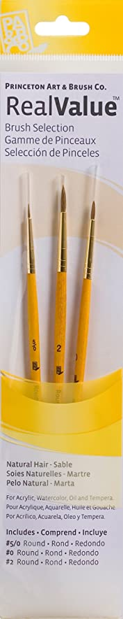 未亡人食べるマニフェストPRINCETON(プリンストン) Brush Set-9105 3本セット