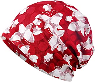 MuYiTai Womens Cotton Beanie Chemo Caps for Cancer Patients