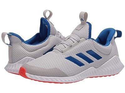 adidas Kids FortaRun (Little Kid/Big Kid) (Grey/Glory Blue/Solar Red) Boys Shoes