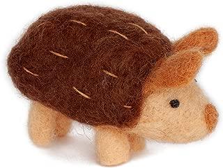 Dimensions Hedgehog Felt Animals Needle Felting Kit, 3.5'' x 2''