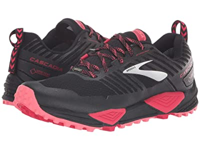 Brooks Cascadia 13 GTX (Black/Pink/Coral) Women