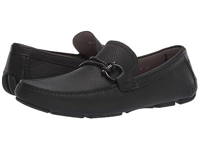 Salvatore Ferragamo Front 4 Loafer (Black) Men