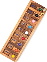 Shut The Box Board Games Wooden with Math Board Games Kids Player Wooden Box of Brain Teaser Puzzles for Family Educationa...