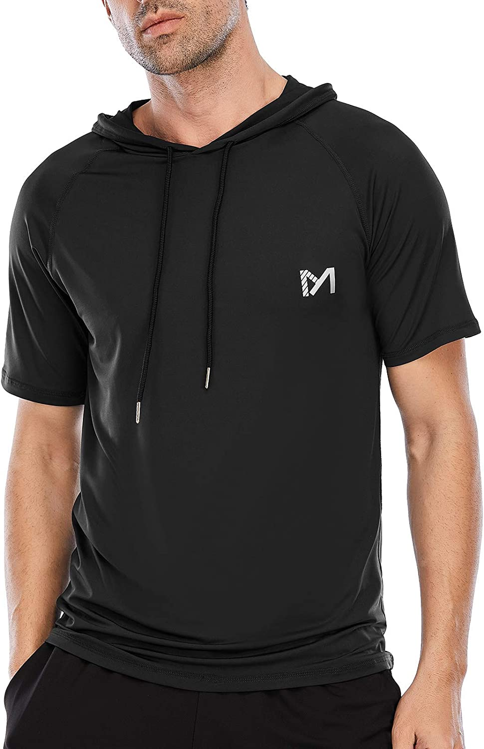 It is very popular Athletic Shirt for Men Short w Workout Year-end gift Sleeve Gym Running
