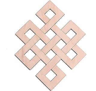 Infinity Knot Wooden Wall Art 12