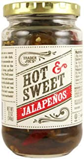 sweet and hot pickled jalapenos
