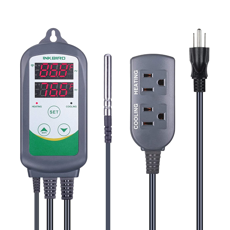 Inkbird WiFi ITC-308 Digital Temperature Thermostat Popular brand in the world Controller R Super intense SALE