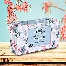 Mirah Belle - Organic Goat Milk, Patchouli Healing Soap Bar (125 gms) - Acne, Blemishes, Scars, Pimples, Pigmentation -125 gm