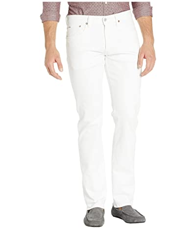 Polo Ralph Lauren Varick Slim Straight Jean (Hudson White) Men
