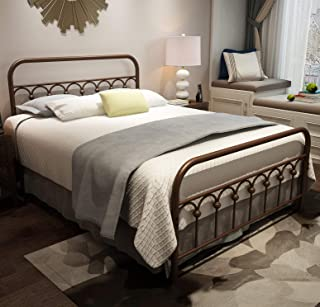 Best wrought iron bed frame Reviews