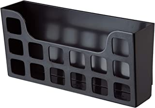 Clear Extra Wide Wholesale CASE of 10 Rubbermaid Deluxe Magazine Files-Deluxe Magazine Rack