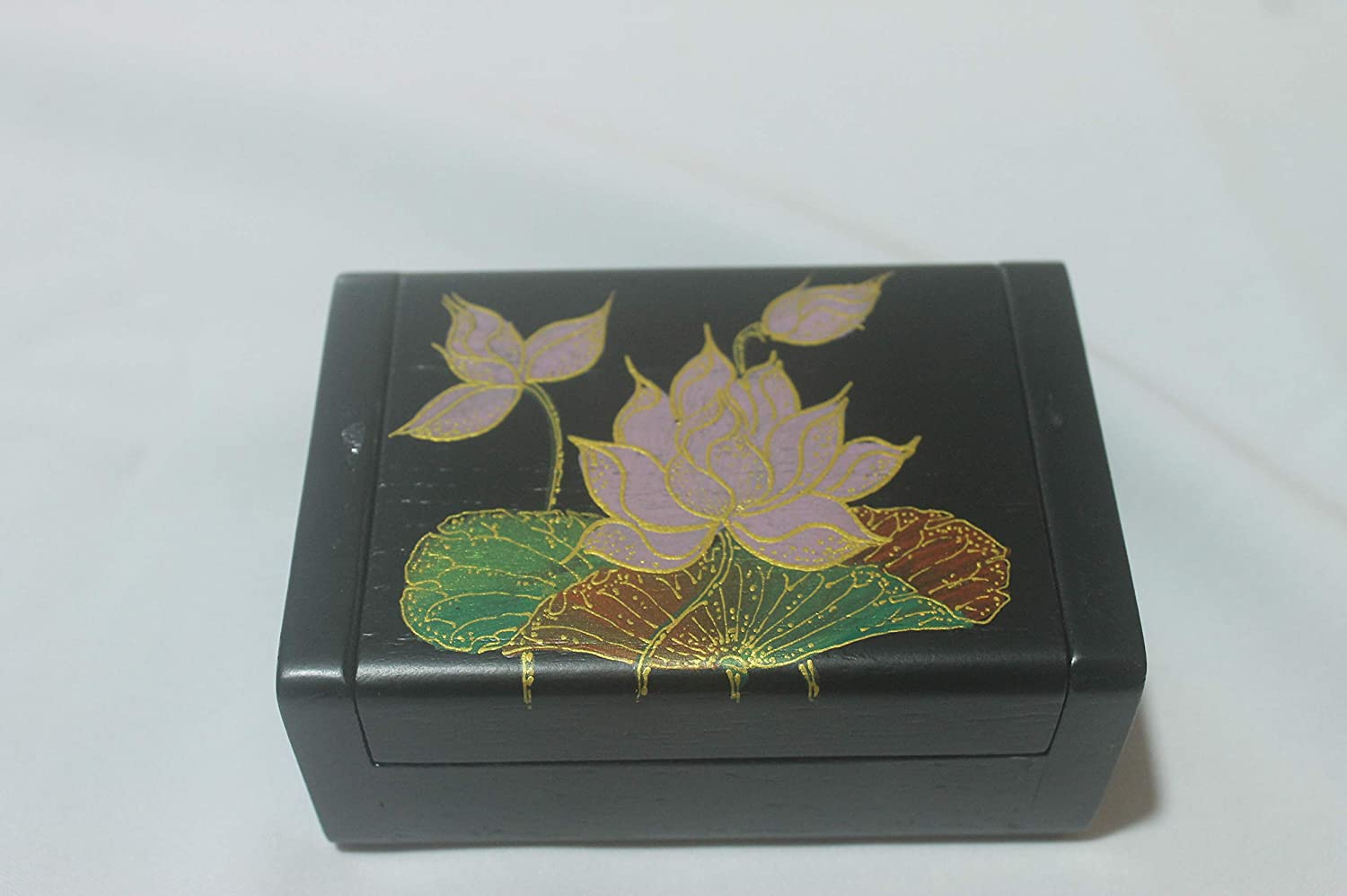 Thai Teak Exporters Hand Painted Boxes Jewelry Omaha Mall Natural - Ha New products world's highest quality popular