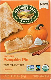 Nature's Path (NOT A CASE) Toaster Pastry Frosted Pumpkin Pie