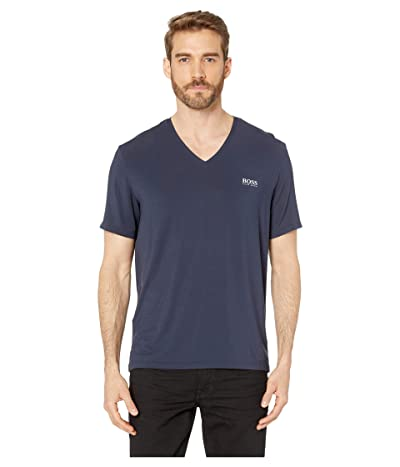 BOSS Hugo Boss Comfort T-Shirt V-Neck (Navy) Men