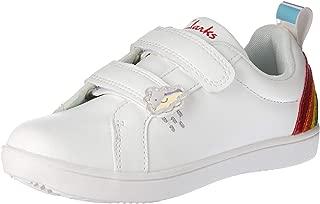 Clarks Girls Raindrop Jnr Shoes, White