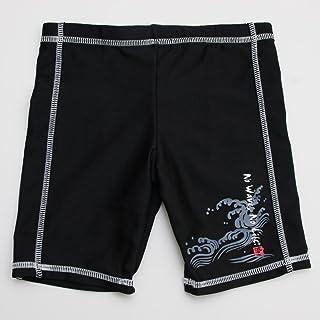 男児水着 スイムパンツ キッズ ブラック 100cm(722511-BK)