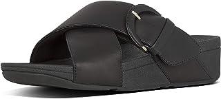FitFlop Women's Lulu Buckle Slide Sandal