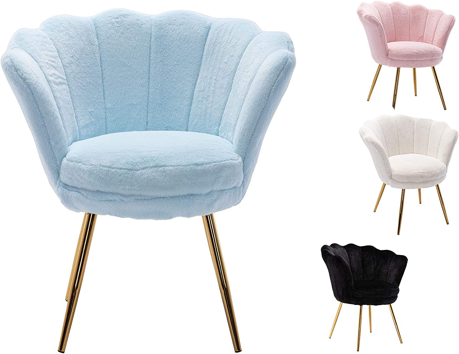 Guyou 物品 Modern アイテム勢ぞろい Comfy Accent Chair for Room Desk Fa Living Bedroom