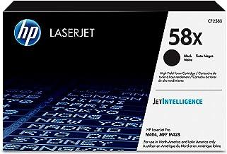 HP 58X   CF258X   Toner Cartridge   Works with HP LaserJet Pro M404 series, M428 series   Black   High Yield