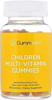 GummYum! Children Multi-Vitamin Gummies, Assorted Natural Flavors, 60 Gummies