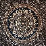 momomus Tapiz de Mandala - De Algodón - Decoración de Paredes para Hogar - Grande,...