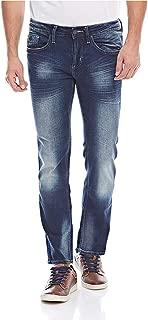 Buffalo SIX-X Straight Jeans For Men - Blue 34