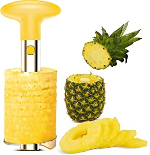 Pineapple Corer Slicer Cutter Remover Peeler Kitchen Tools with Sharp Blade for Fruit