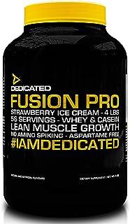 Dedicated Nutrition Fusion Pro Pre-Workout Protein Mix, 1792 g, Tiramisu Gelato