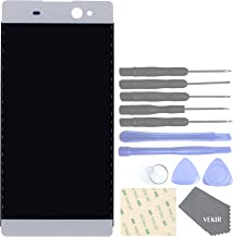 VEKIR Display and Touch Assembly Screen for Sony Xperia XA Ultra F3211 F3213 F3215(White)