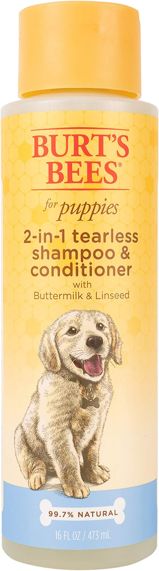 Burt's Bees for Puppies Tearless 2 in 1 Shampoo and Conditioner For Dogs