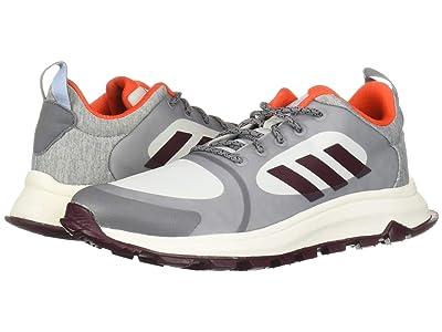 adidas Running Response Trail X (Grey/Maroon/Blue Tint) Women