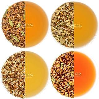 VAHDAM, Turmeric Tea Sampler - (6 TEAS) - THE WONDER SPICE - Turmeric Spiced, Turmeric Ginger, Turmeric Tul...