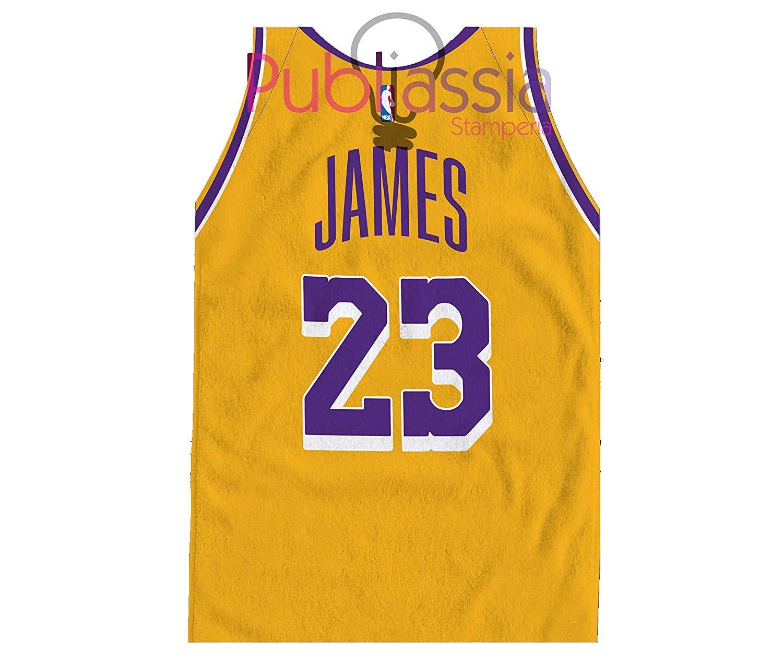 Los Angeles Lakers James Lebron 23 Toalla de playa Player NBA toalla contorneada game day hub equipo baloncesto nba maxi idea regalo mujer hombre niño niña baloncesto verano camiseta baloncesto: Amazon.es: Hogar