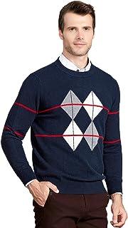 Cashmere Men's Crew-Neck Sweater
