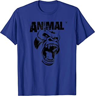 animal bodybuilding t shirt