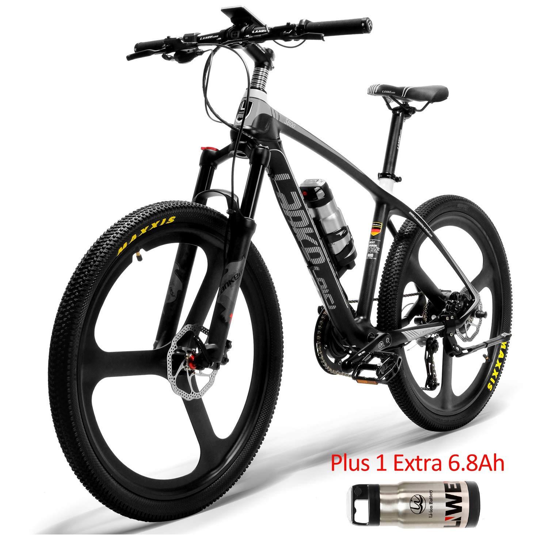 S600 26 Bicicleta eléctrica Cuadro de fibra de carbono 240W ...
