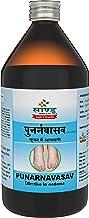 Sandu Punarnavasav   Ayurvedic Tonic for Liver, Kidney & Urinary Disorders (450 ml)