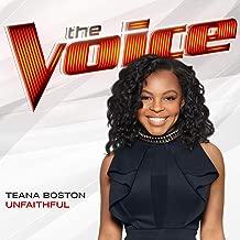 unfaithful the voice