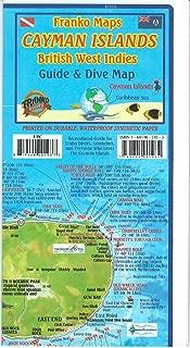 cayman islands snorkeling map
