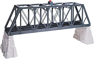 Lionel Truss Bridge with Flasher and Piers