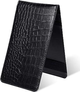 Zonon Leather Golf Scorecard Holder Golf Card Holder Leather Golf Log Book Golf Pencil and Stat Tracker Sheet Leather Boun...