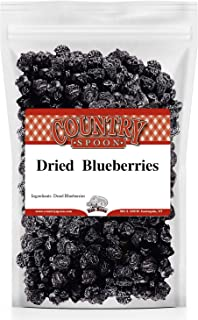 Sponsored Ad - Country Spoon Dried Blueberries, 1 lb | Apple Juice Infused, Plump, Juicy Berries, No Refined Sugar Added