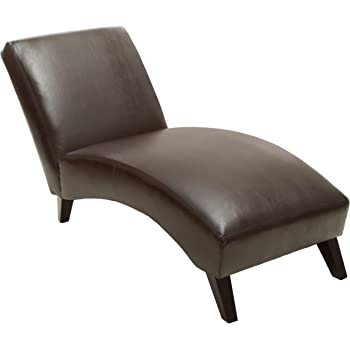 Christopher Knight Home Finlay Chaise Lounge, Brown
