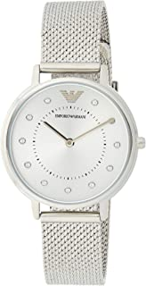 Emporio Armani Ladies Wrist Watch, Silver, AR11128