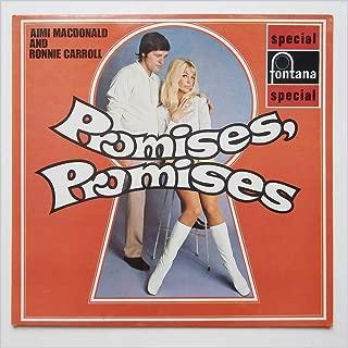 PROMISES, PROMISES - 1970 UK ORIGINAL CAST RECORDING LP