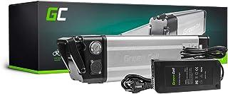 GC® Batería E-Bike 24V 11Ah Bicicleta Eléctrica Silverfish Li-Ion con Celdas Panasonic y Cargador Greyp Bikes Ez Pedaler Segway