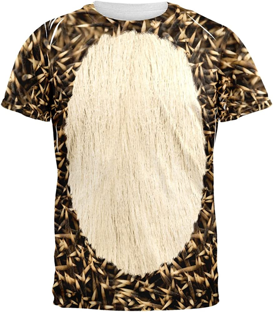 Bargain sale animalworld Halloween discount Hedgehog Costume T-Shirt Over Adult All