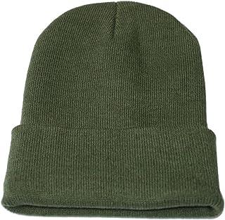 b8bd6b5a175 Unisex Solid Slouchy Knitting Beanie Warm Cap Ski Hat